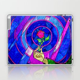 Beauty And The Beast Red Rose Flower Laptop & iPad Skin
