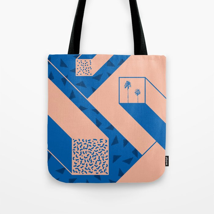 palm geometry Tote Bag