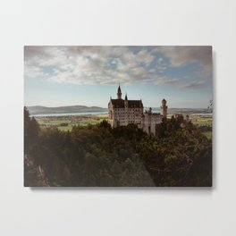 Neuschwanstein Castle in Germany Metal Print