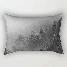 Misty Forest II Rectangular Pillow
