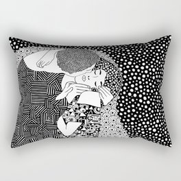 The kiss of Gustav Klimt Rectangular Pillow