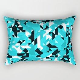 Off-Beat Geometric Shapes V.15 Rectangular Pillow