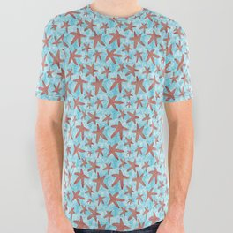 Star Spangled Sea All Over Graphic Tee