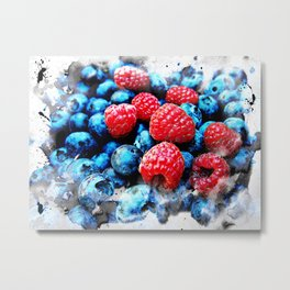Fruits and berrys V Metal Print