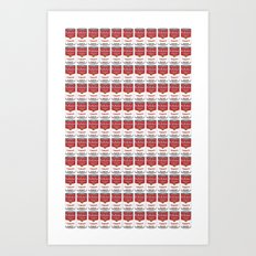 The Can of Soup in the Age of Mechanical Reproduction Art Print