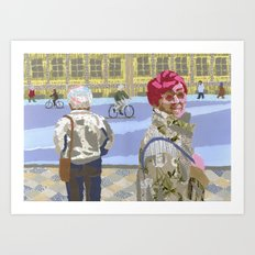 Passers (Passants) Art Print