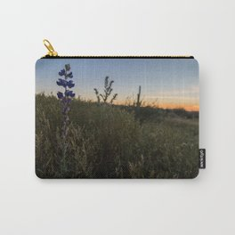 Purple Lupines at Sunset Carry-All Pouch
