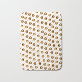 Boo Pumpkin Halloween Design Bath Mat