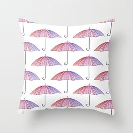 Ready for Rain Throw Pillow