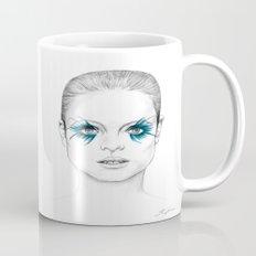 Blue Eyed Girl Mug