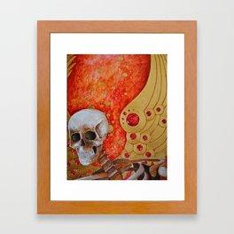 Close Call Framed Art Print