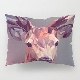 Square triangle deer Pillow Sham