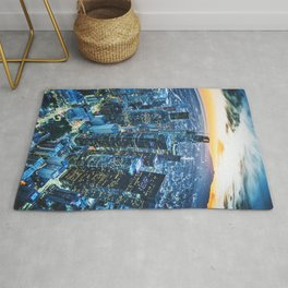 los angeles downtown Rug