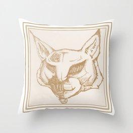 Vintage TechnoLynx Throw Pillow