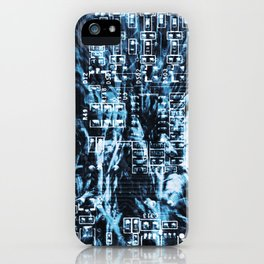 Circuit Board 14 iPhone Case