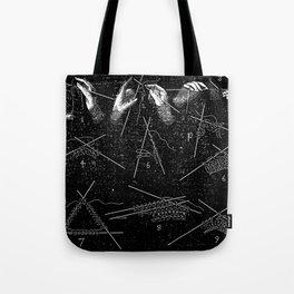 Vintage knitting Tote Bag