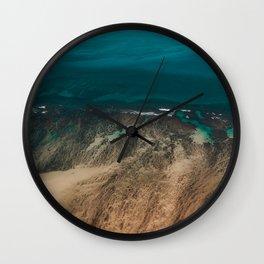 Hawaiian Sea Wall Clock