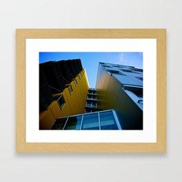 The Building Framed Art Print