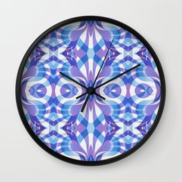 Floral Geometric Abstract G288 Wall Clock