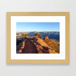 Into the Canyon Framed Art Print