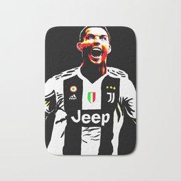 Cristiano Ronaldo Juventus CR7 Bath Mat