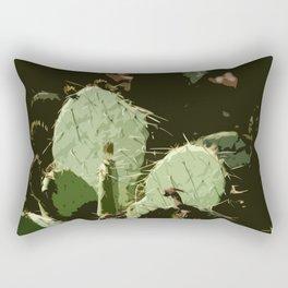 Desert Cactus Rectangular Pillow