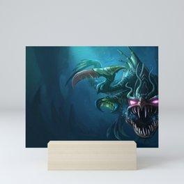 Loch Ness ChoGath League of Legends Mini Art Print