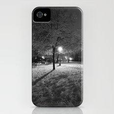 Lamplight on snow iPhone (4, 4s) Slim Case