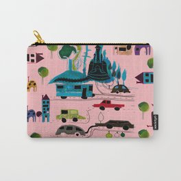CityView pink Carry-All Pouch