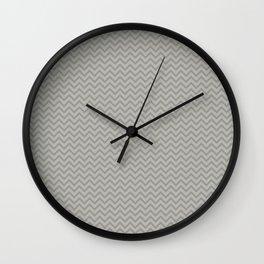 Greytone Chevron Wall Clock