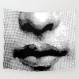 Lina Cavalieri Nose & Mouth Wall Tapestry