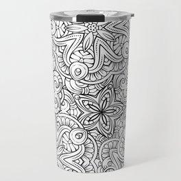 Mandalas pattern Travel Mug