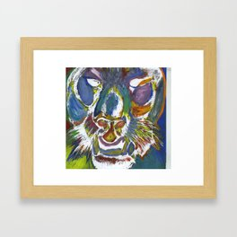 Panther of Glory Framed Art Print