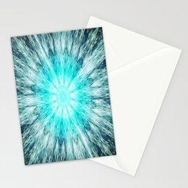Teal Blue Mandala Stationery Cards