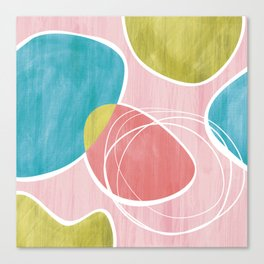 Abstract - Happy Day Canvas Print