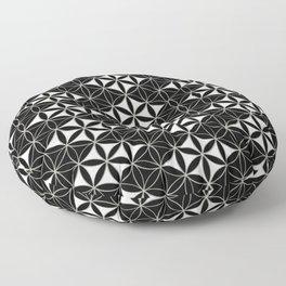 Flower of Life Pattern 12 Floor Pillow