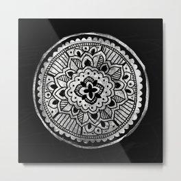 Indian Mandala Metal Print