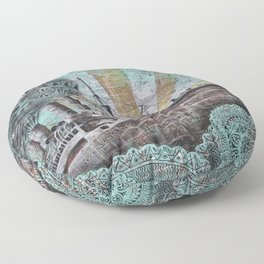 the boat wall Floor Pillow