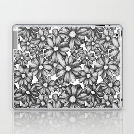 Etchy Flower Laptop & iPad Skin