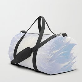 Mandala Flower    Blue Duffle Bag