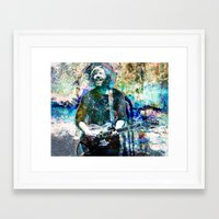 phish Framed Art Prints featuring Trey Anastasio - Phish Original Painting Print by RockChromatic