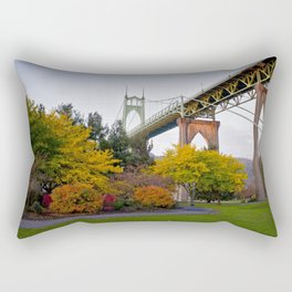 St. Johns Bridge Rectangular Pillow