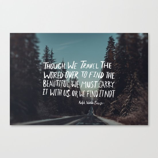Road Trip Emerson Canvas Print