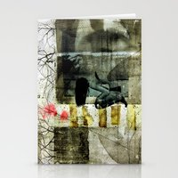 broken Stationery Cards featuring BROKEN by db Waterman