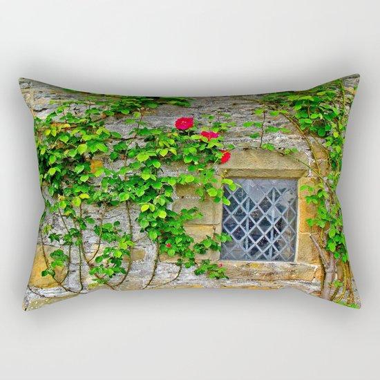 English Castle Rectangular Pillow