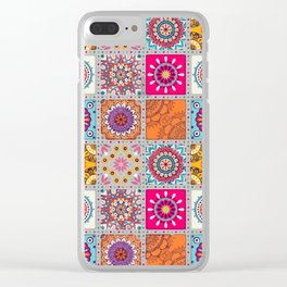 Mandalas Clear iPhone Case