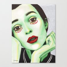 Close Up 2 Canvas Print