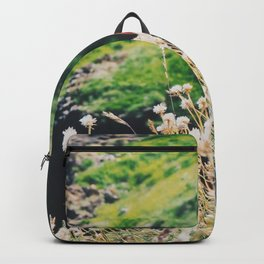 Puffin On Staffa Island Backpack