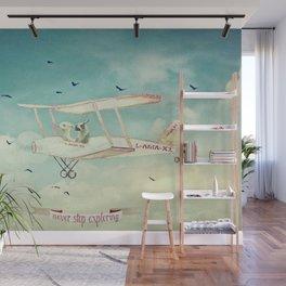 Never Stop Exploring III - THE SKY Wall Mural