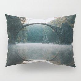 The Devil's Bridge - Landscape and Nature Photography Pillow Sham